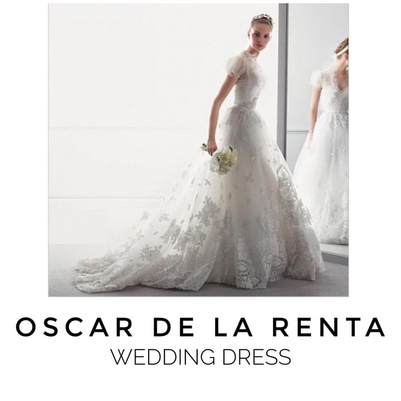 Oscar De La Renta Dresses 12e04 Wedding Dress Size 4 Poshmark